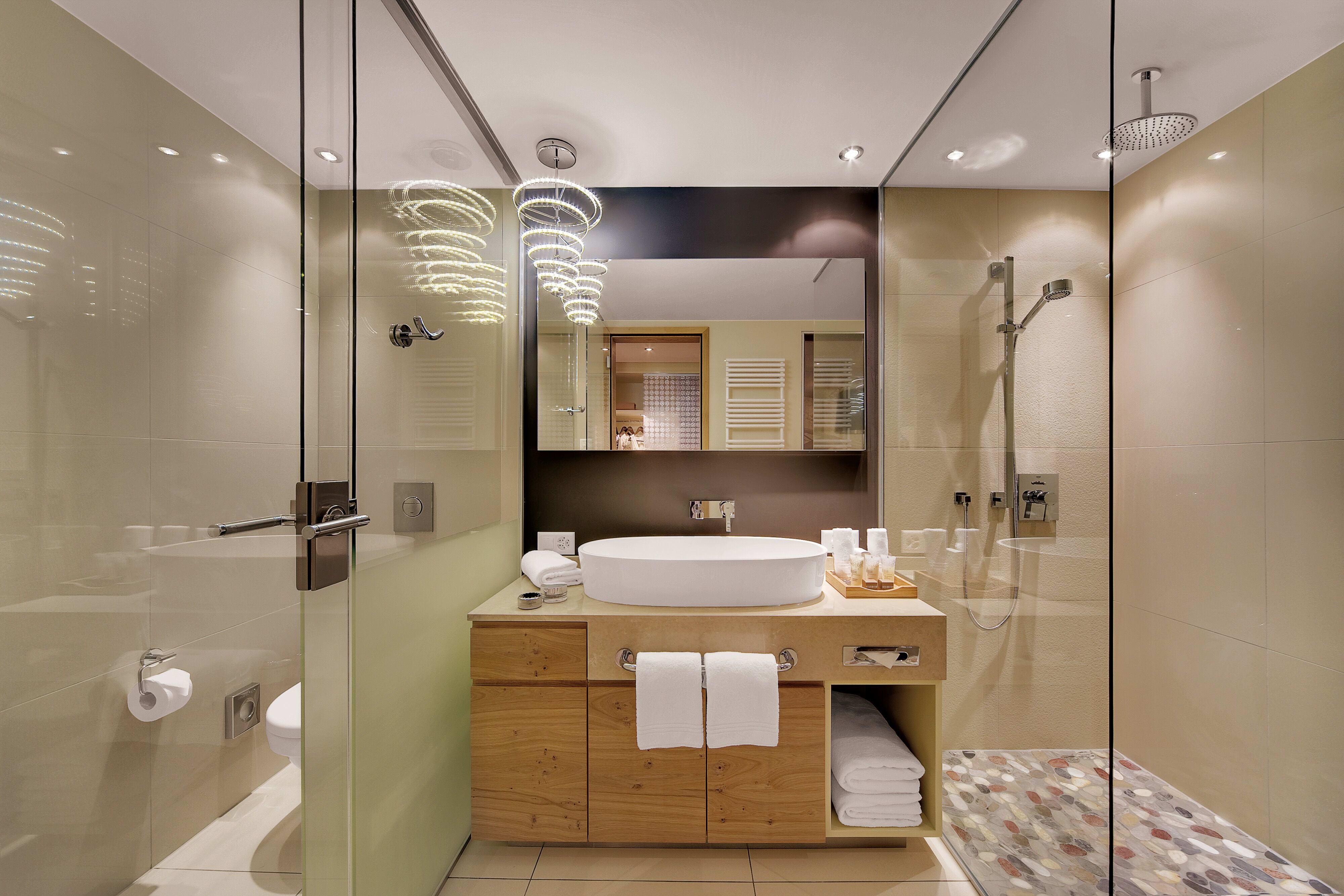 Large room bathroom