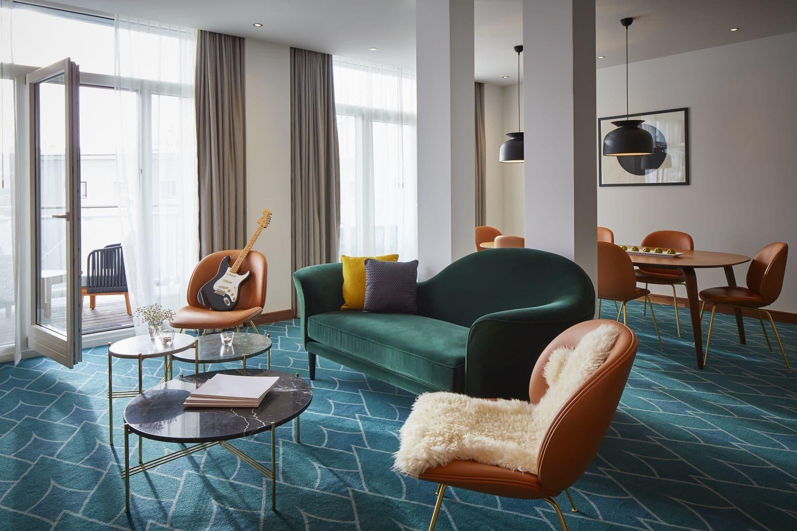 Rock Star Suite Living Room