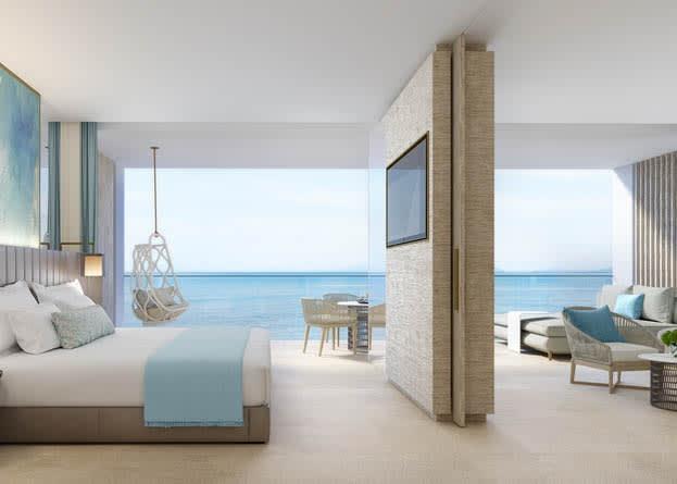 Deluxe 1 Bdroom suite seaview