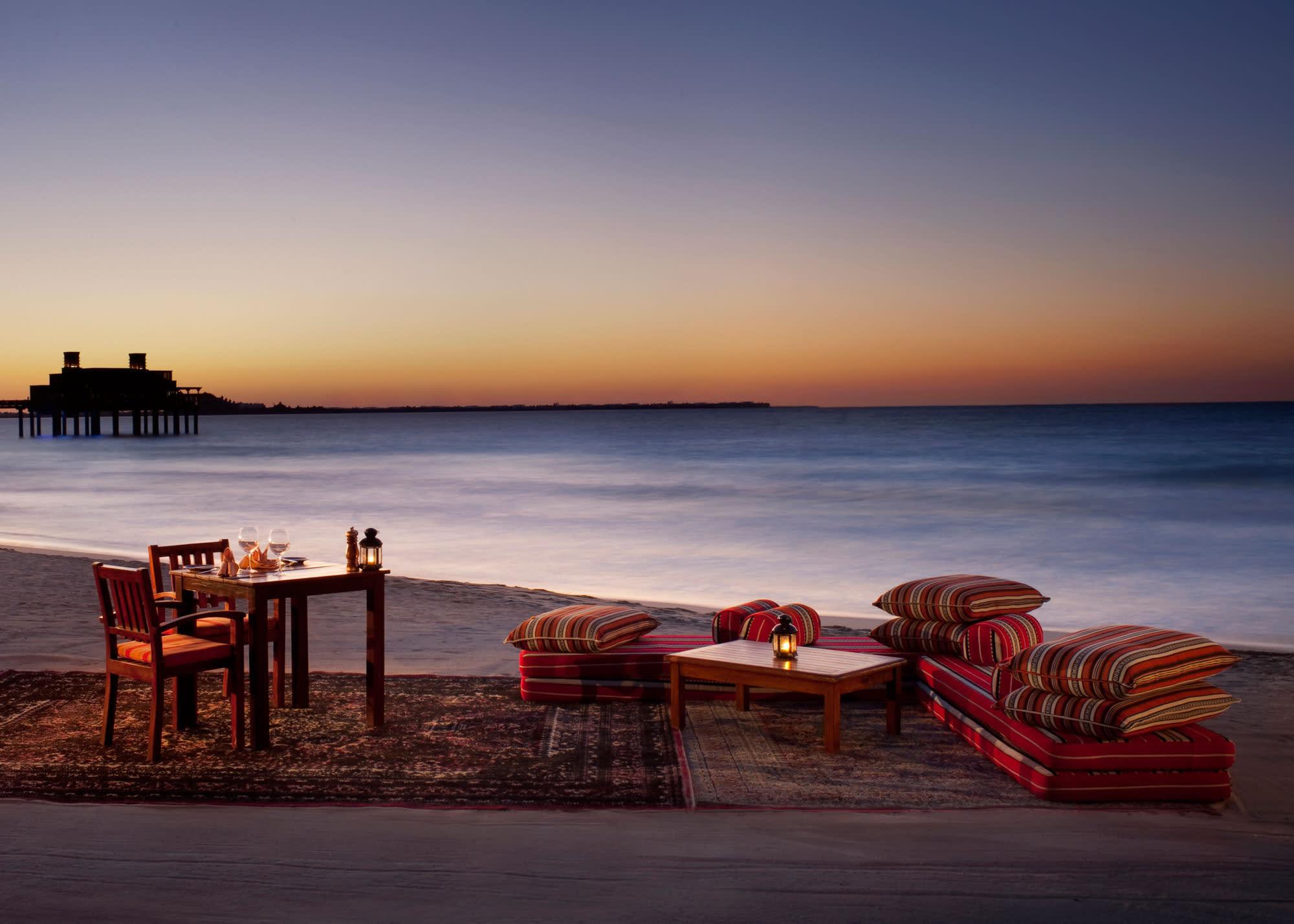 Shimmers Beach Setup