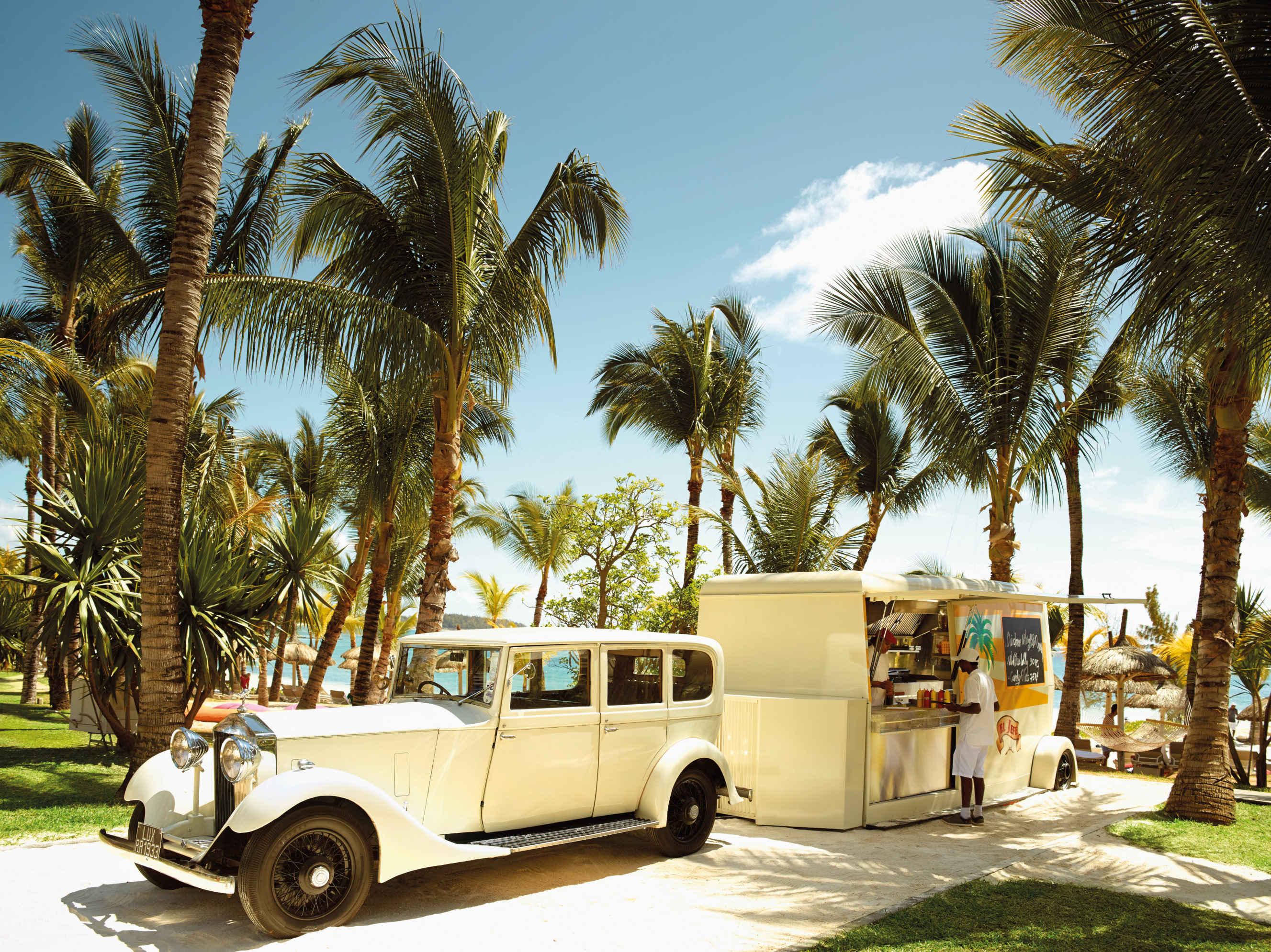 Rolls Royce 1933 Food Truck