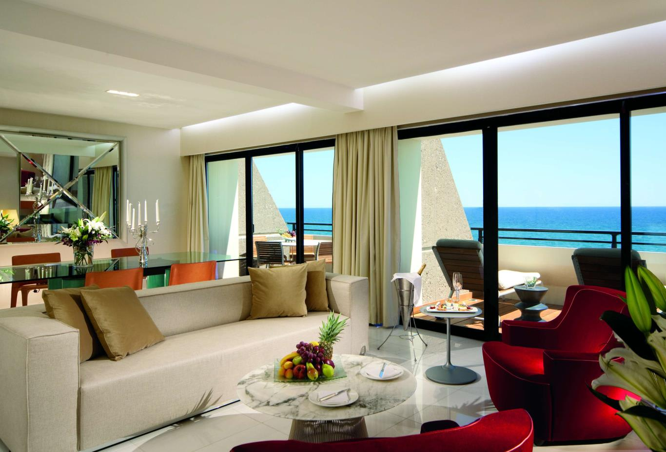 Presidential Suite-Living Room