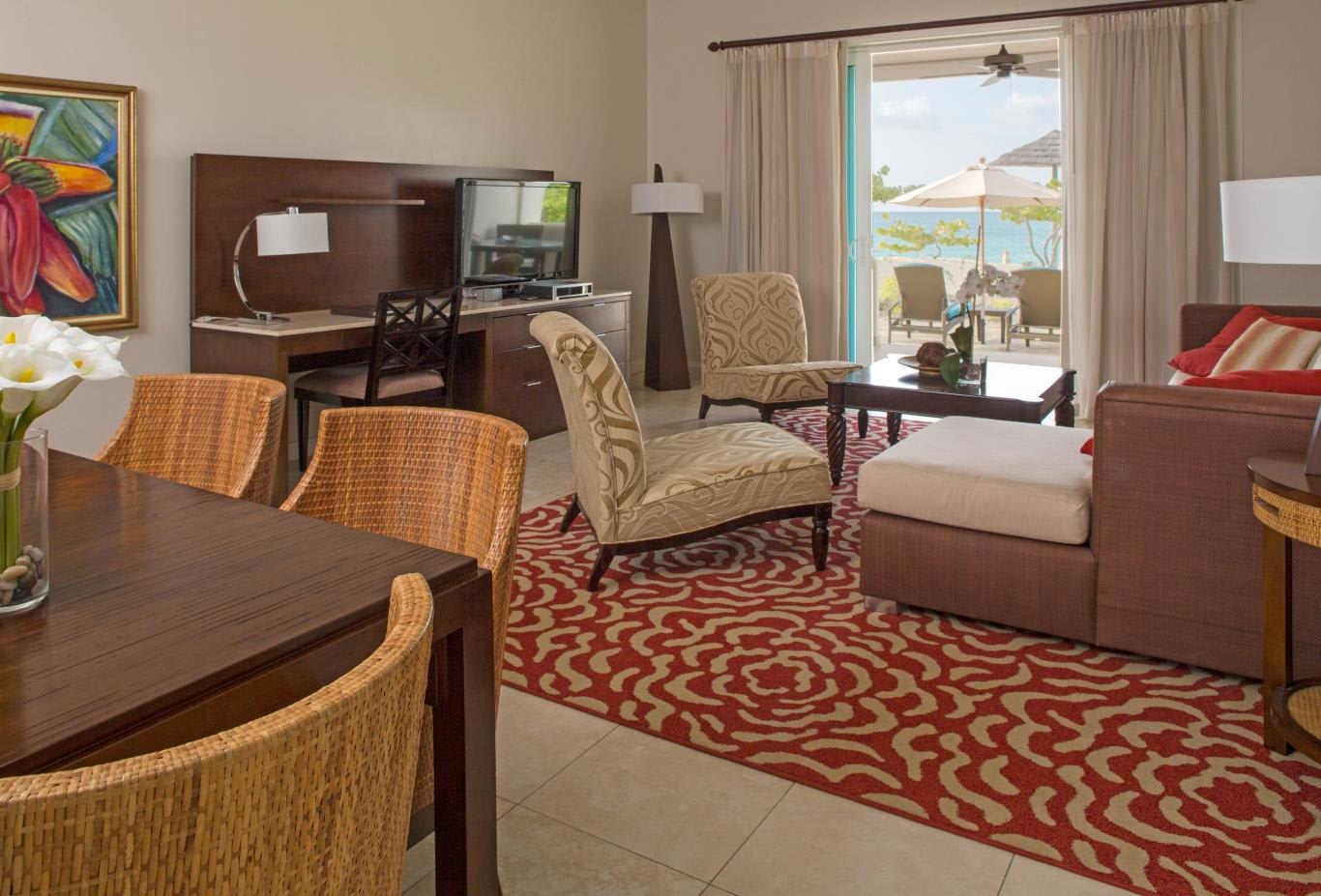 Cinnamon and Saffron Beach Suite