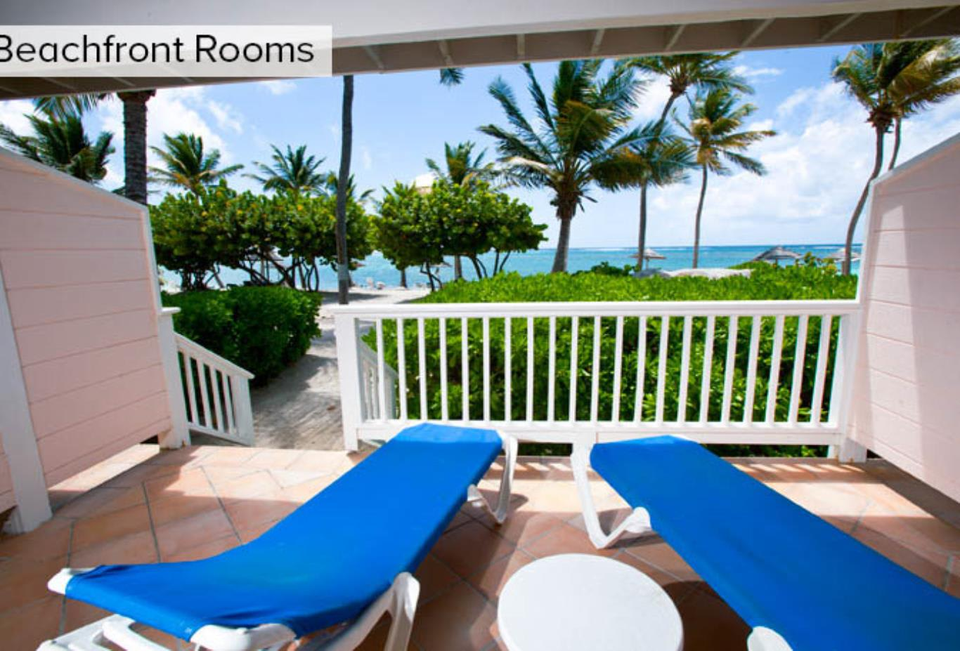 Beachfront Room Patio