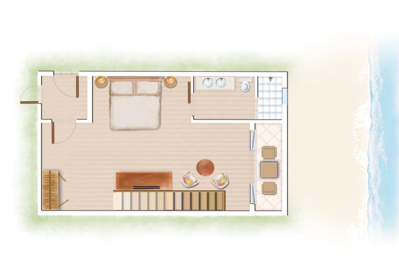 Loft Parents Bedroom