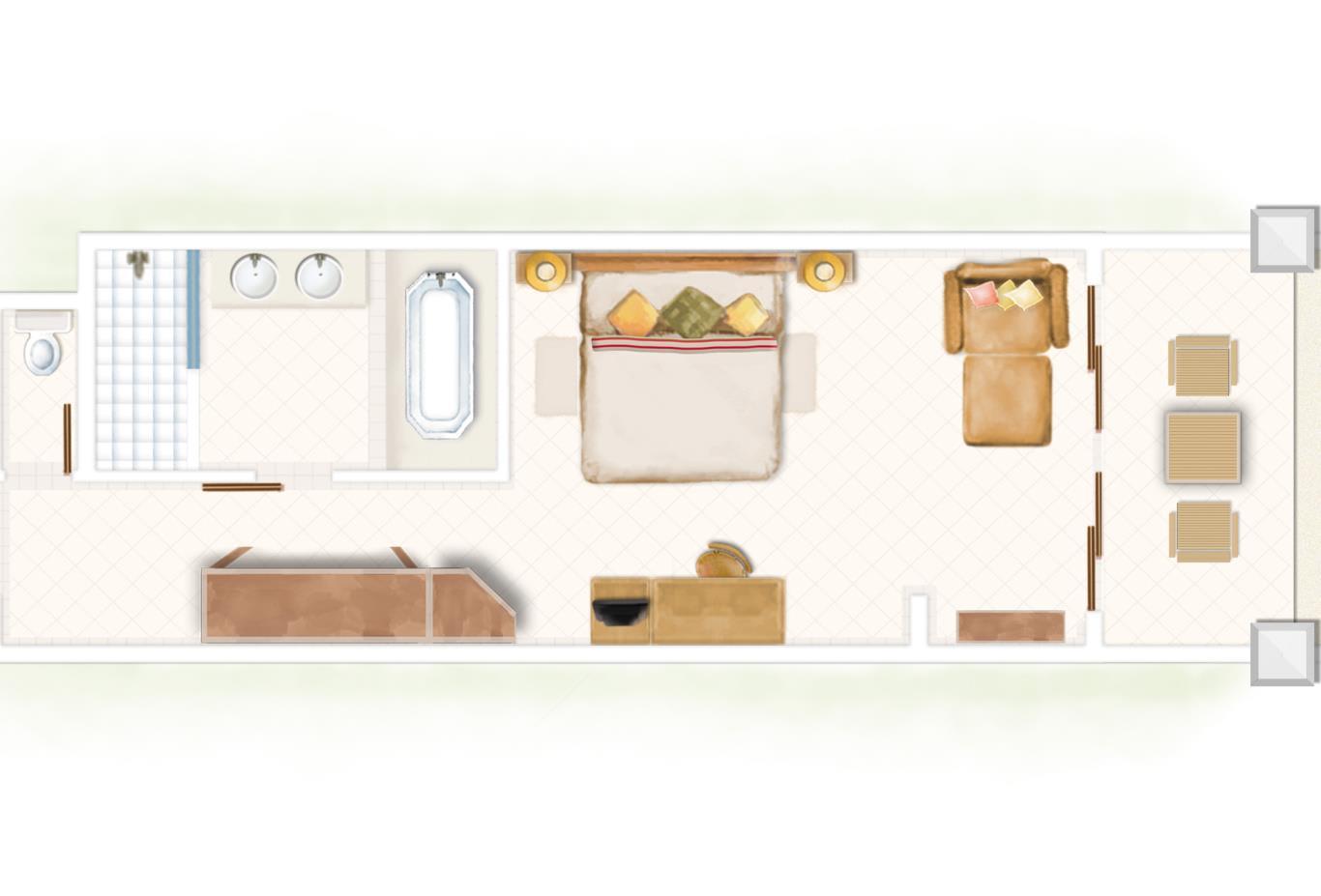 Superior Room Floorplan