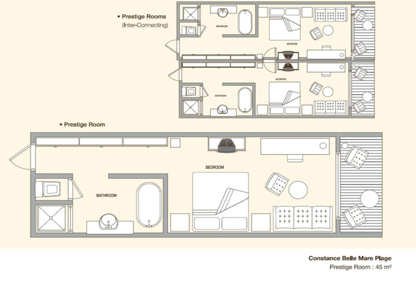 Prestige Room Floor Plan