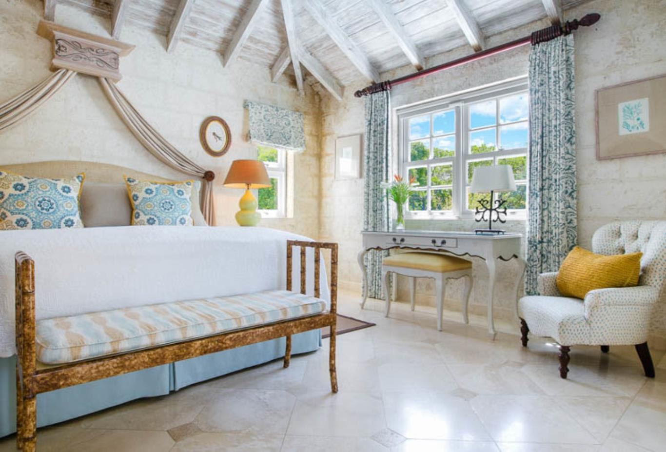 Bedroom of Luxury Plantation Suite Codrington
