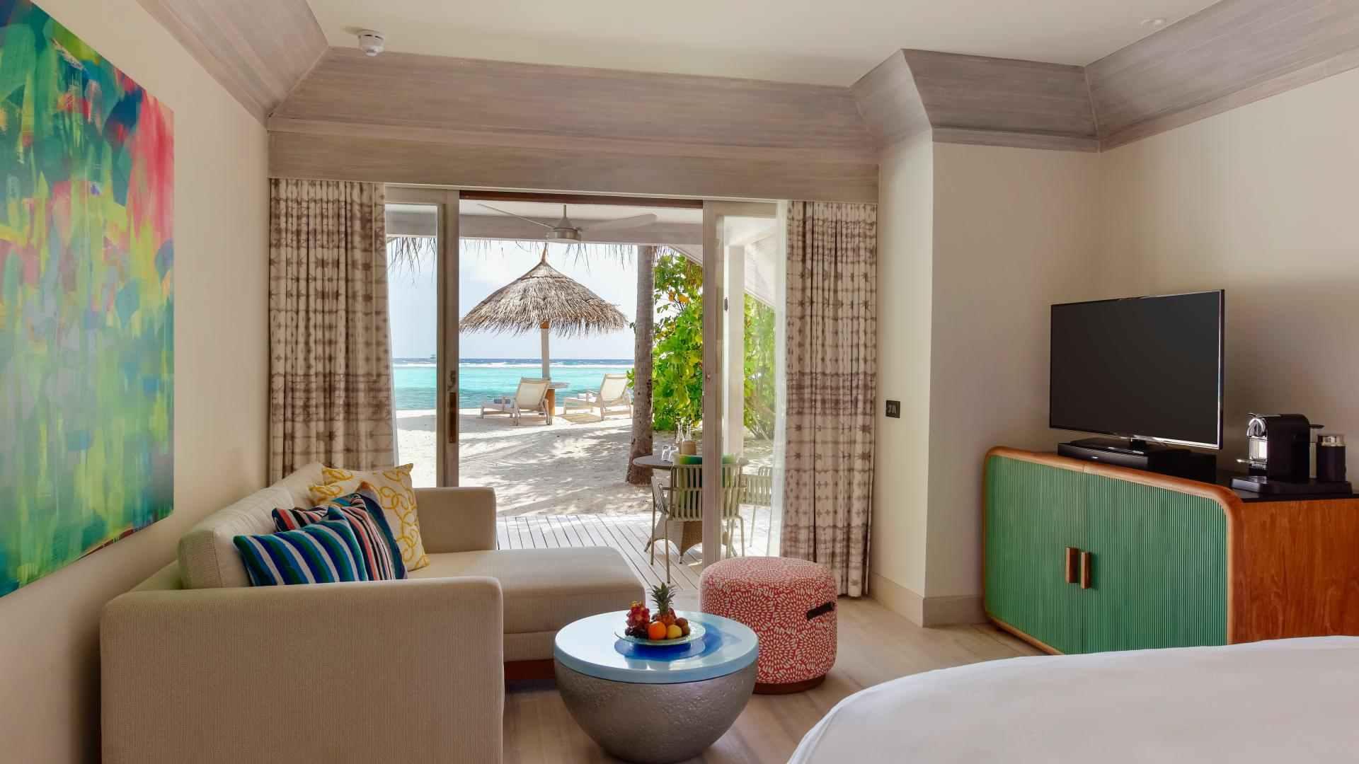 Grand Beach villa interior