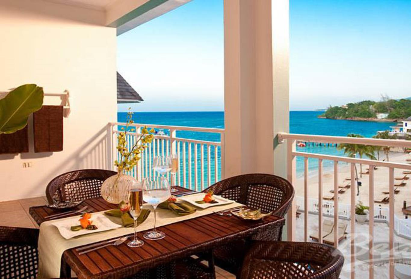 French Village Honeymoon Oceanview Grande Luxe Concierge Veranda Suite - HSD,HSK 2