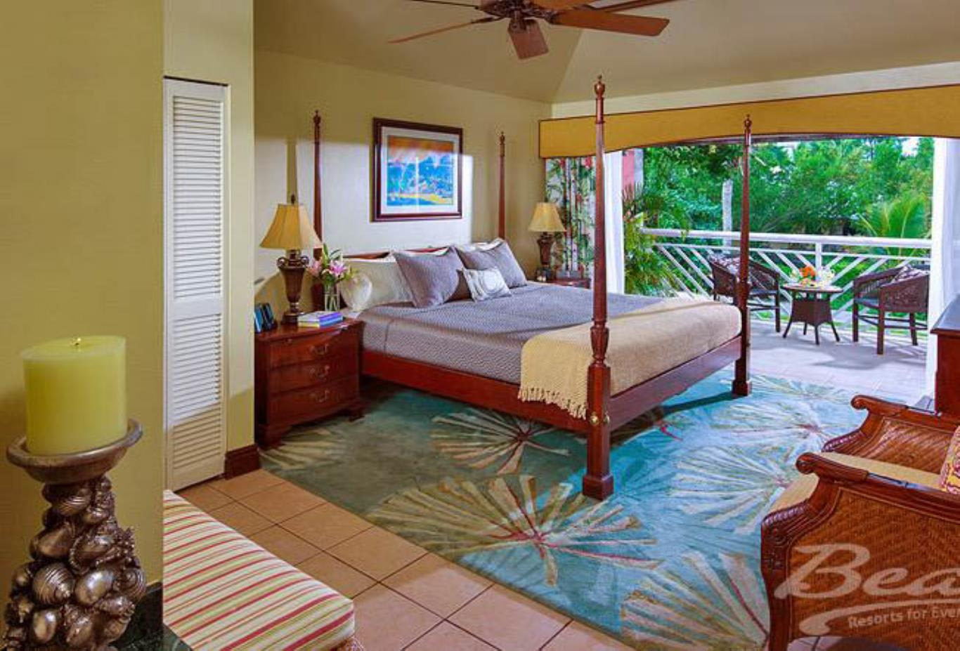 Caribbean Honeymoon One Bedroom Concierge Suite - H1