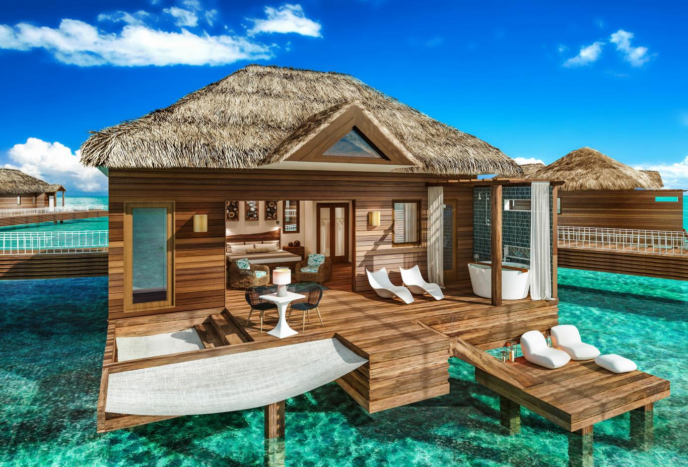 OWB - Overwater Private Island Bungalow