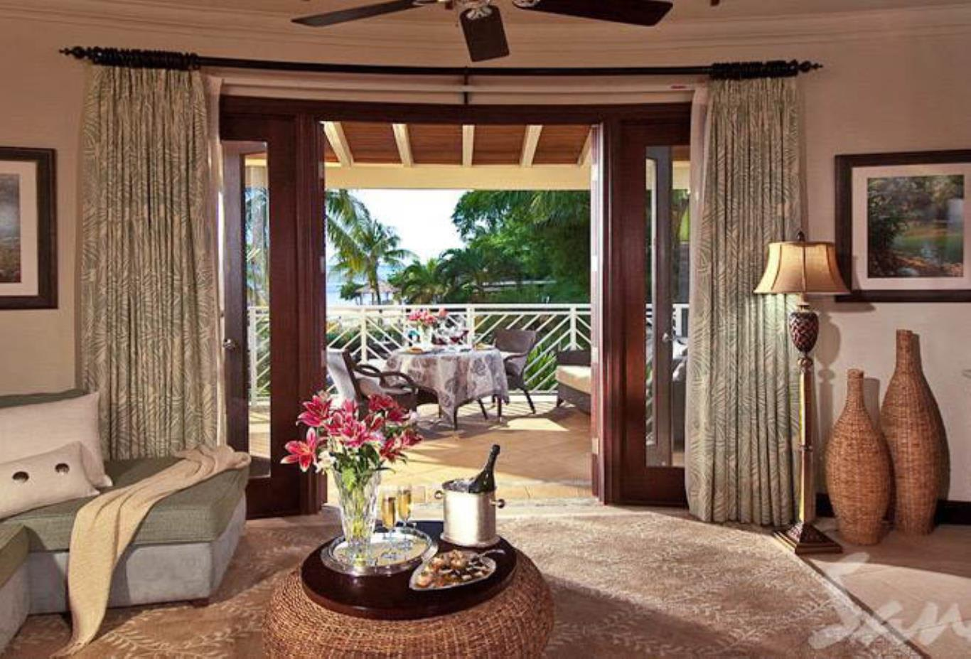 Millionaire Honeymoon Oceanview Penthouse One Bedroom Butler Suite - OP