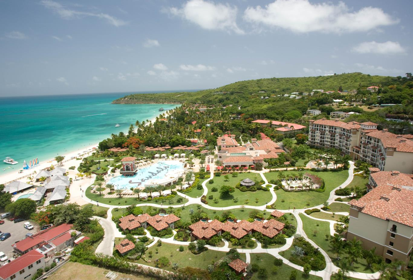 2453e18d6 Sandals Grande Antigua Resort And Spa. Destinology Recommended. Resort  Aerial