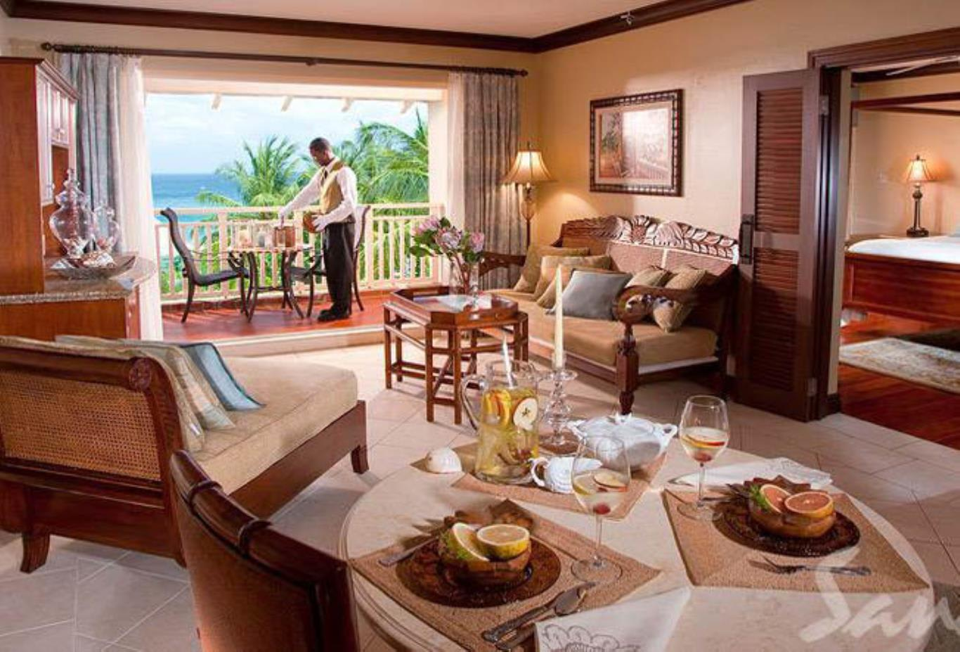 Caribbean Honeymoon One Bedroom Butler Suite - 1BL