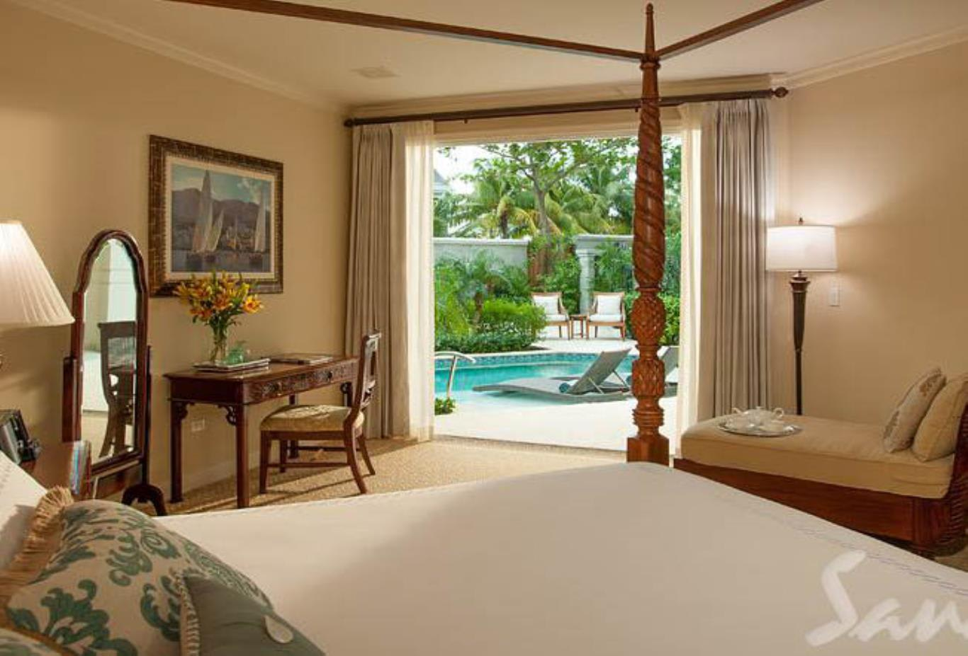 Windsor Honeymoon Hideaway Swim Up Crystal Lagoon Zen One Bedroom Butler Suite