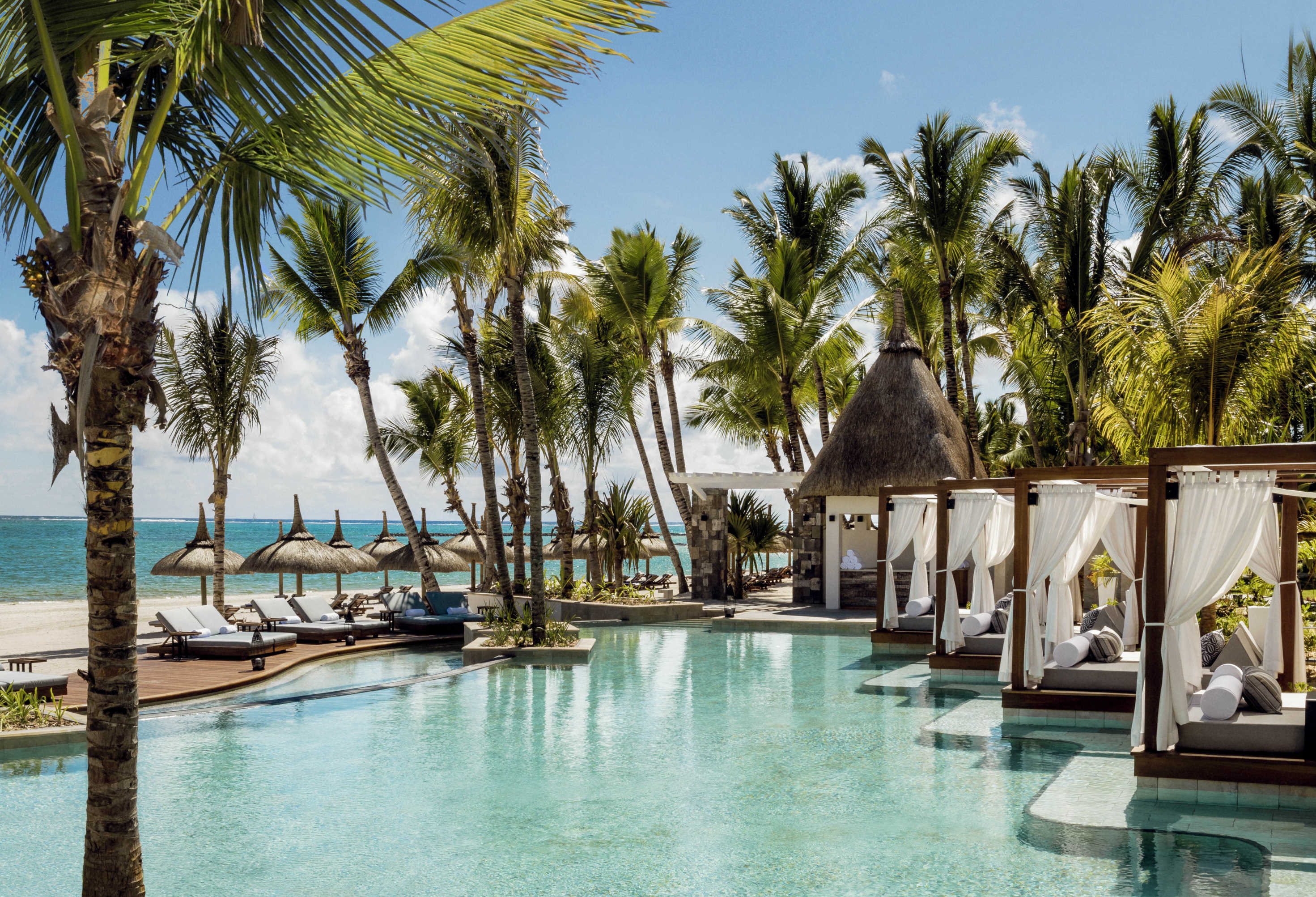 La Pointe Pool at One&Only Le Saint Geran