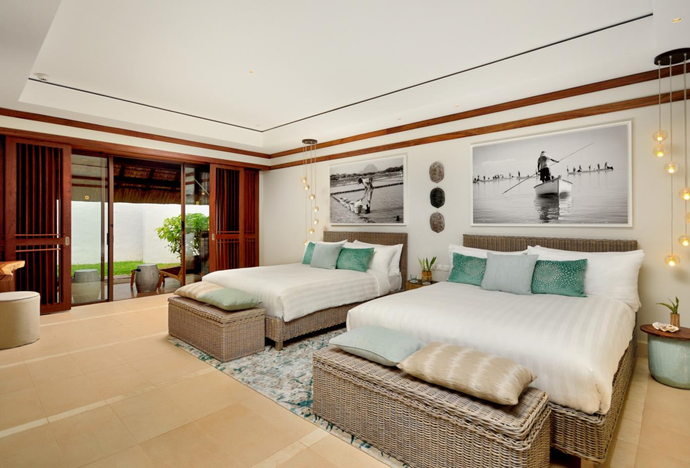 Beach Villa bedroom twin