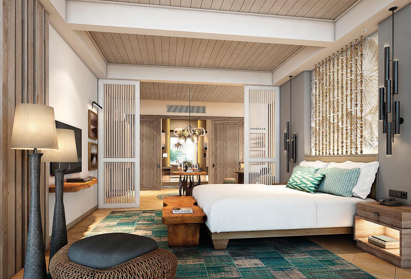 Shangri-La Suite Bed Room