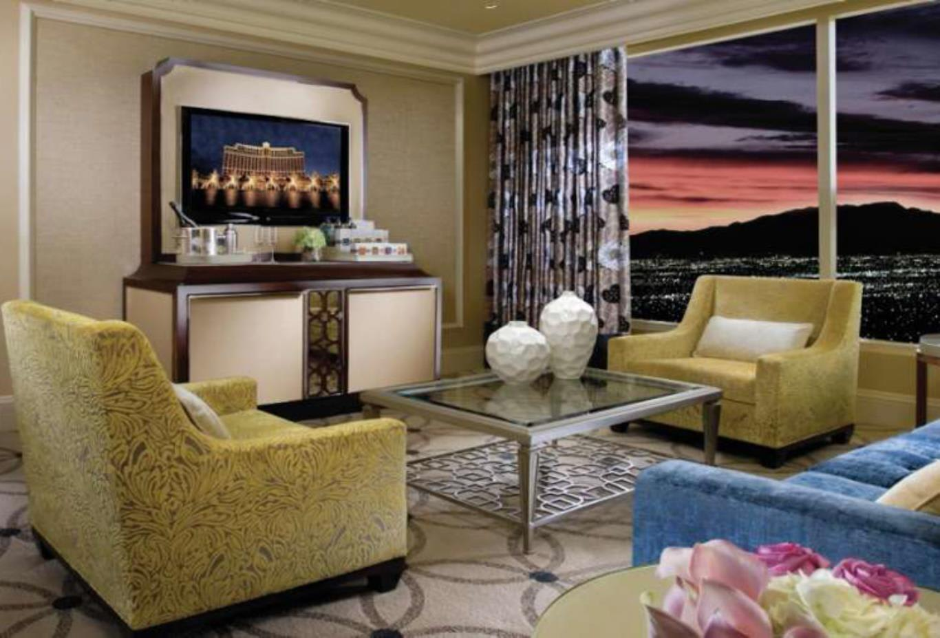 Bellagio Suite living area