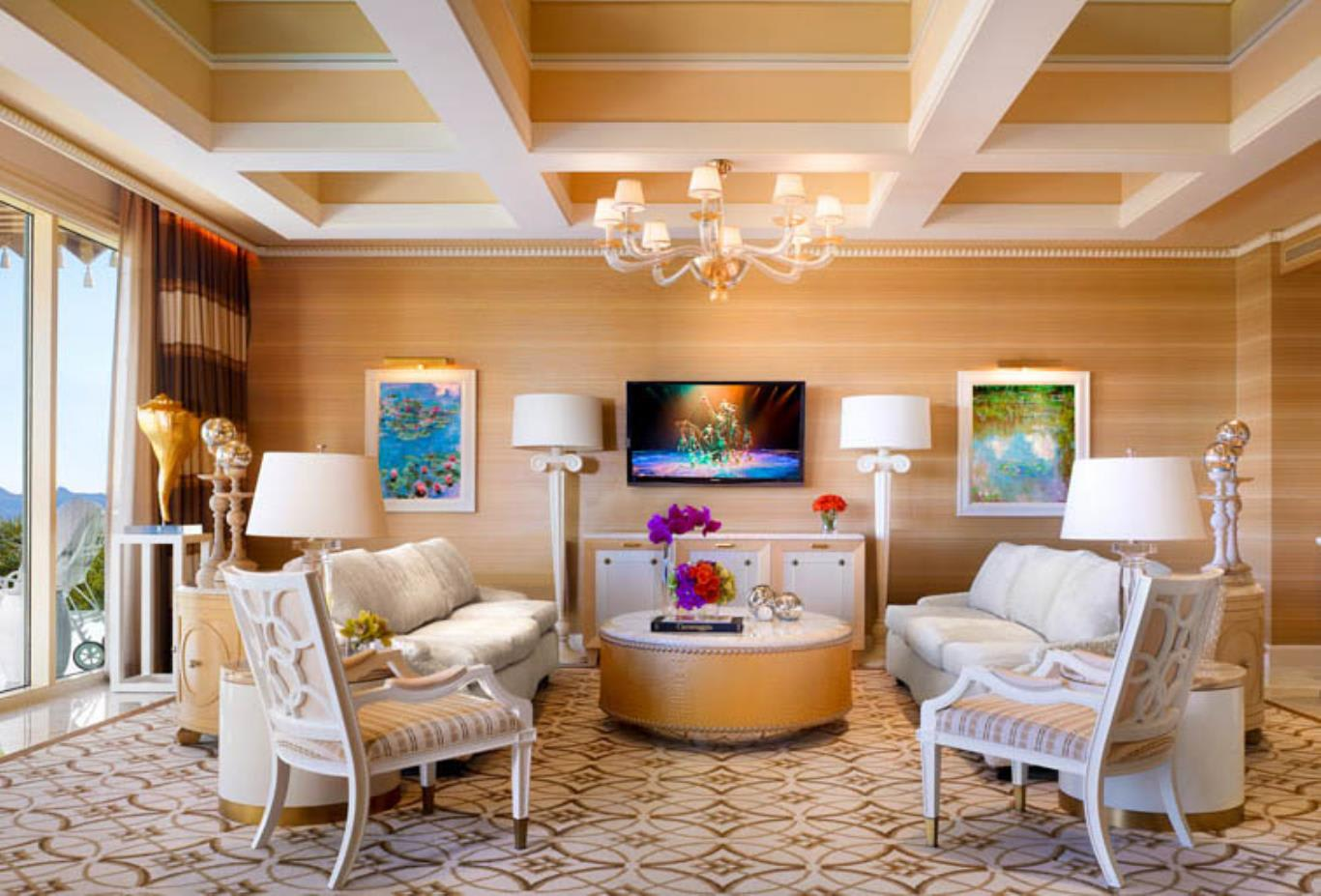 Wynn Fairway Villa Living Area