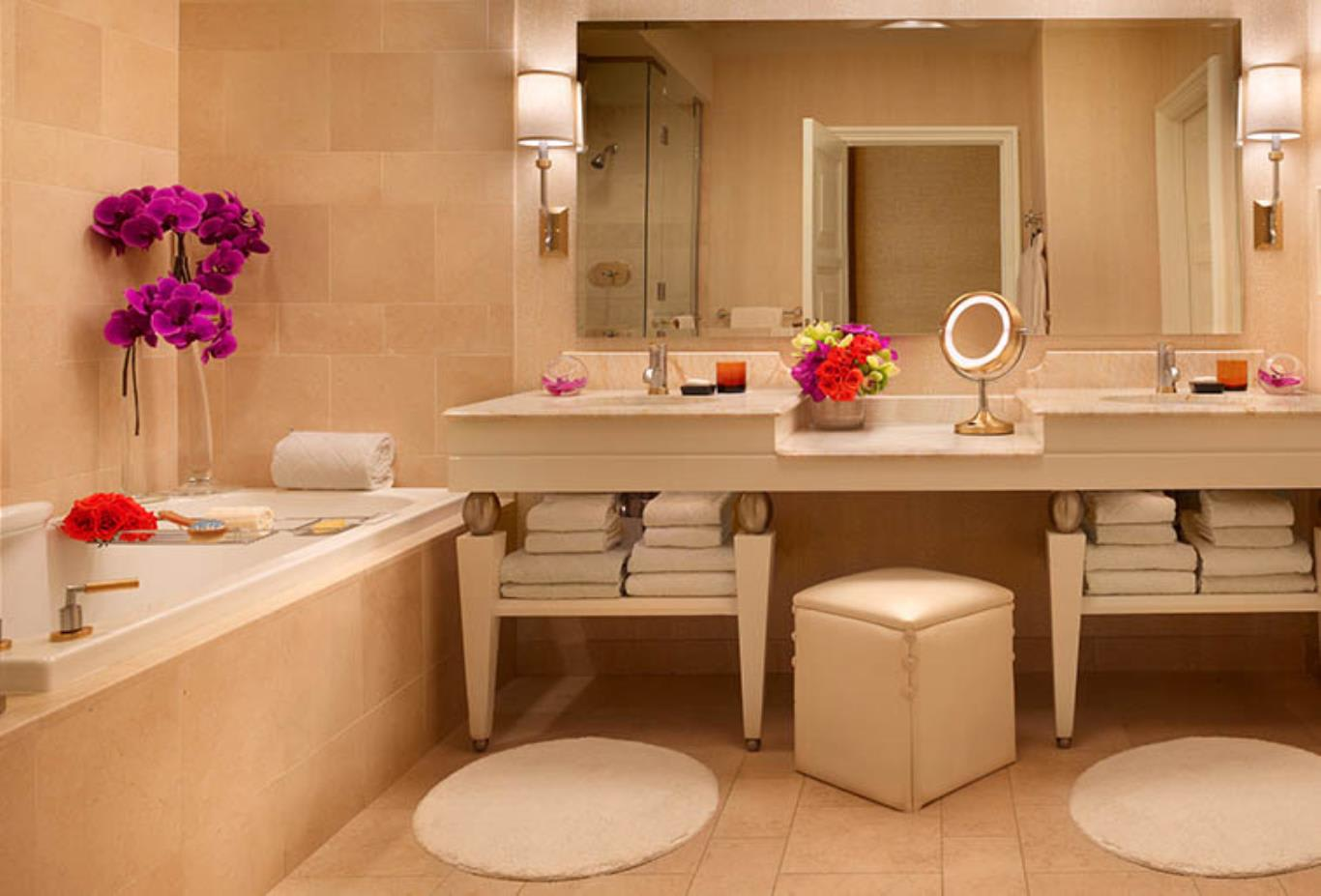Wynn King Tower Suite Bathroom