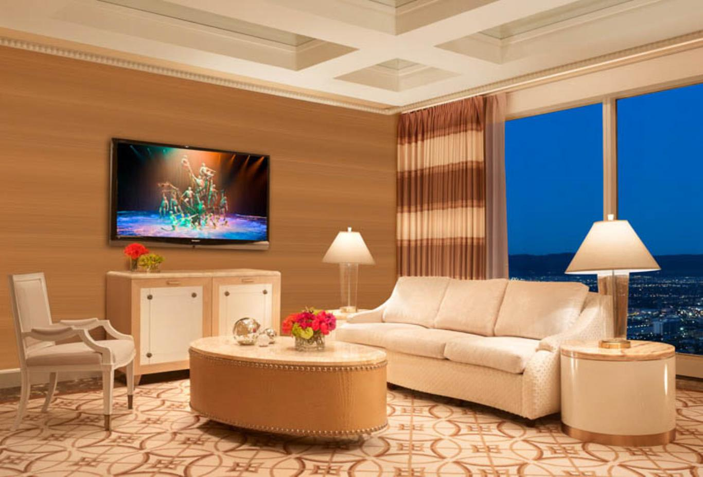 Wynn Parlor Suite Living Area