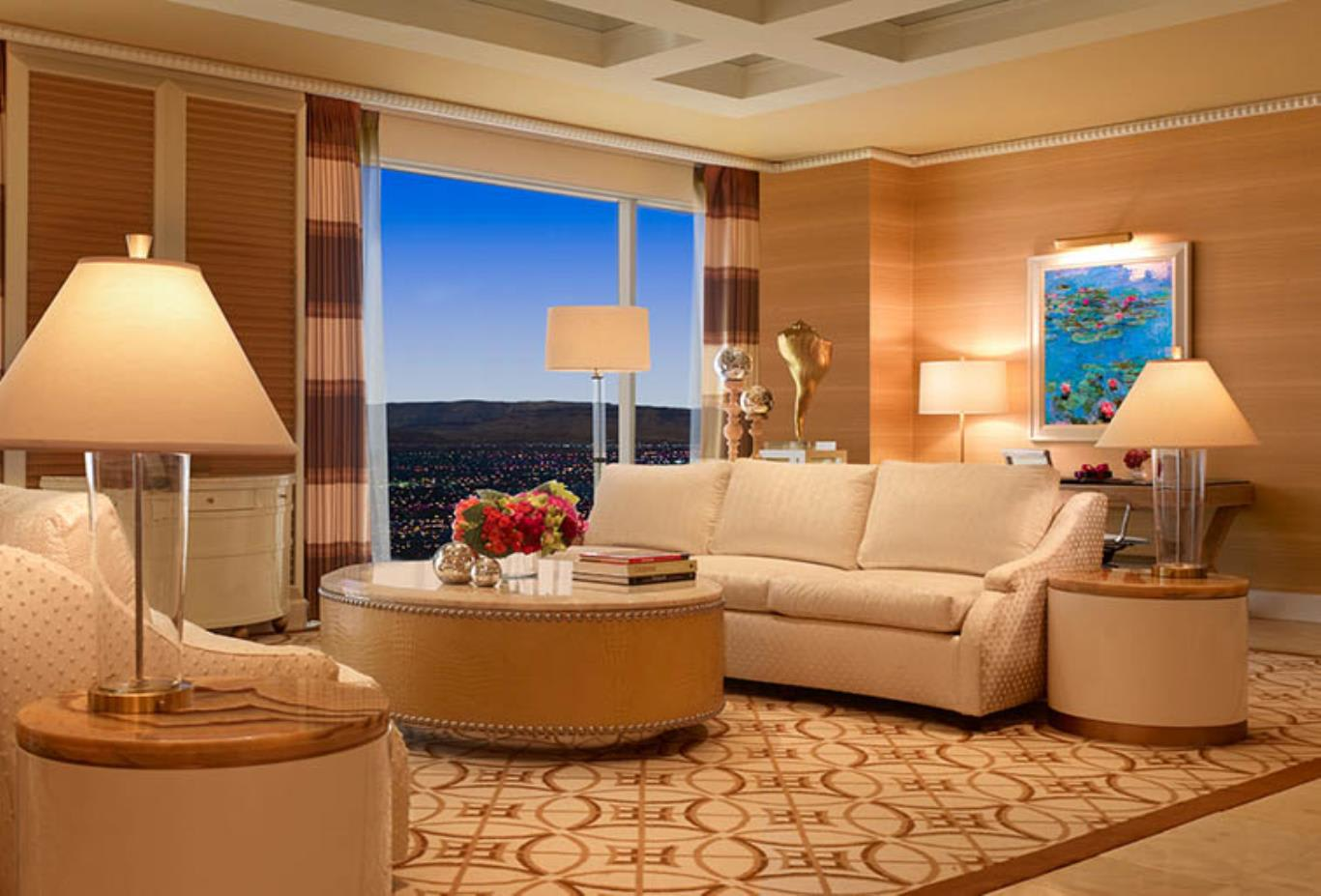 Wynn Salon Suite Living Area