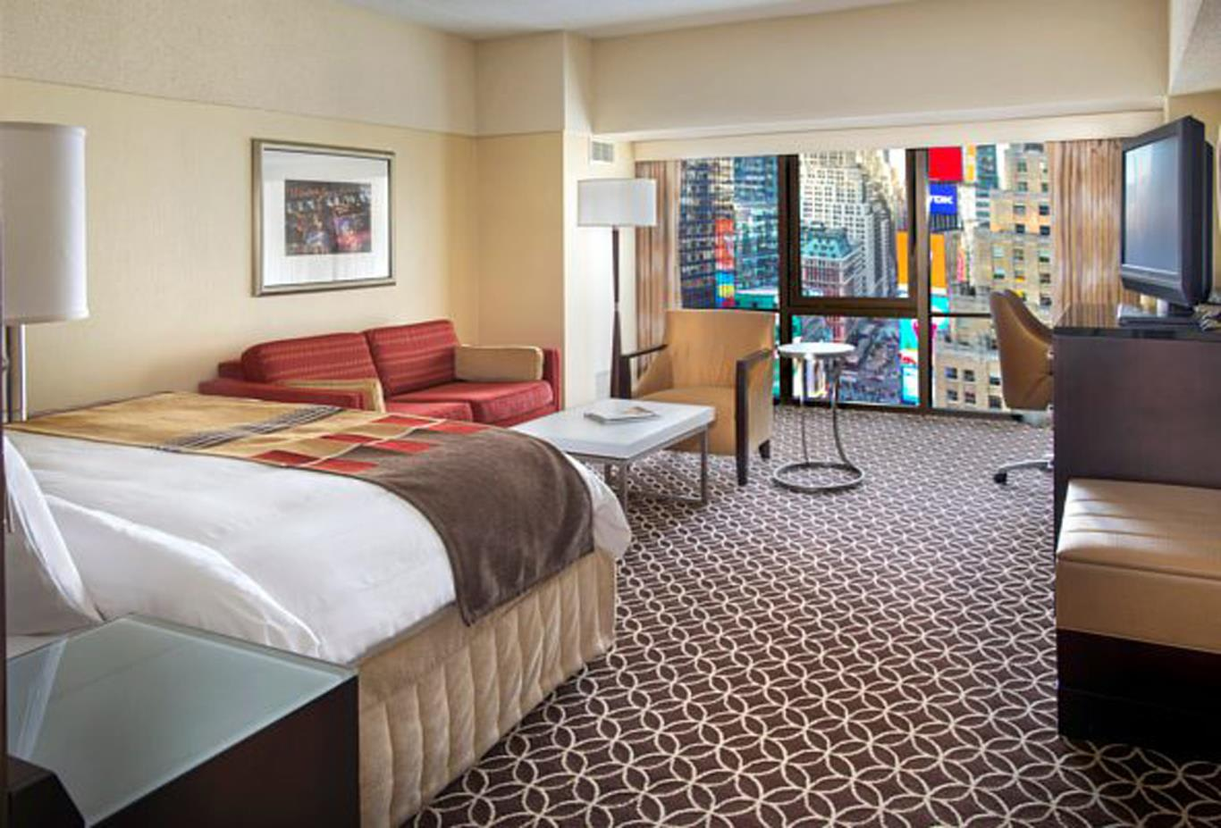 Times-Square-View-King-Guest-Room