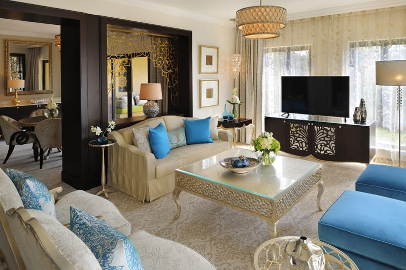 Arabian Court Executive Suite Living room