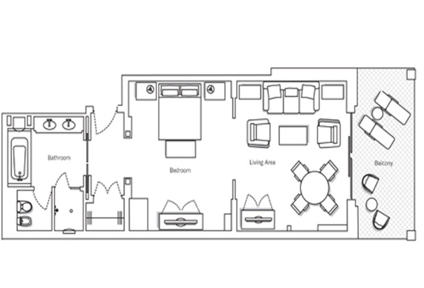 Floorplan Junior-Suite
