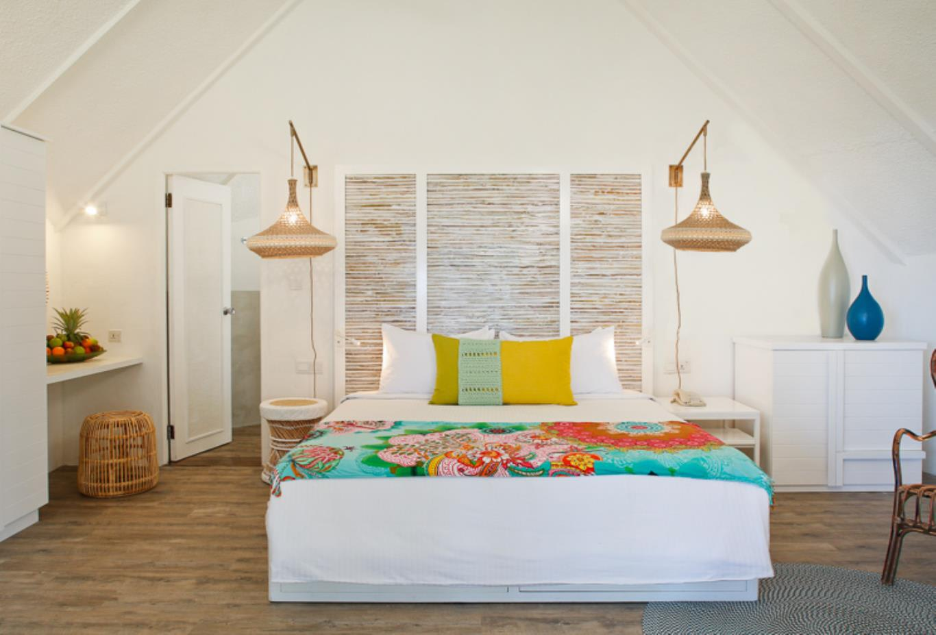 Beach Pavilion bedroom