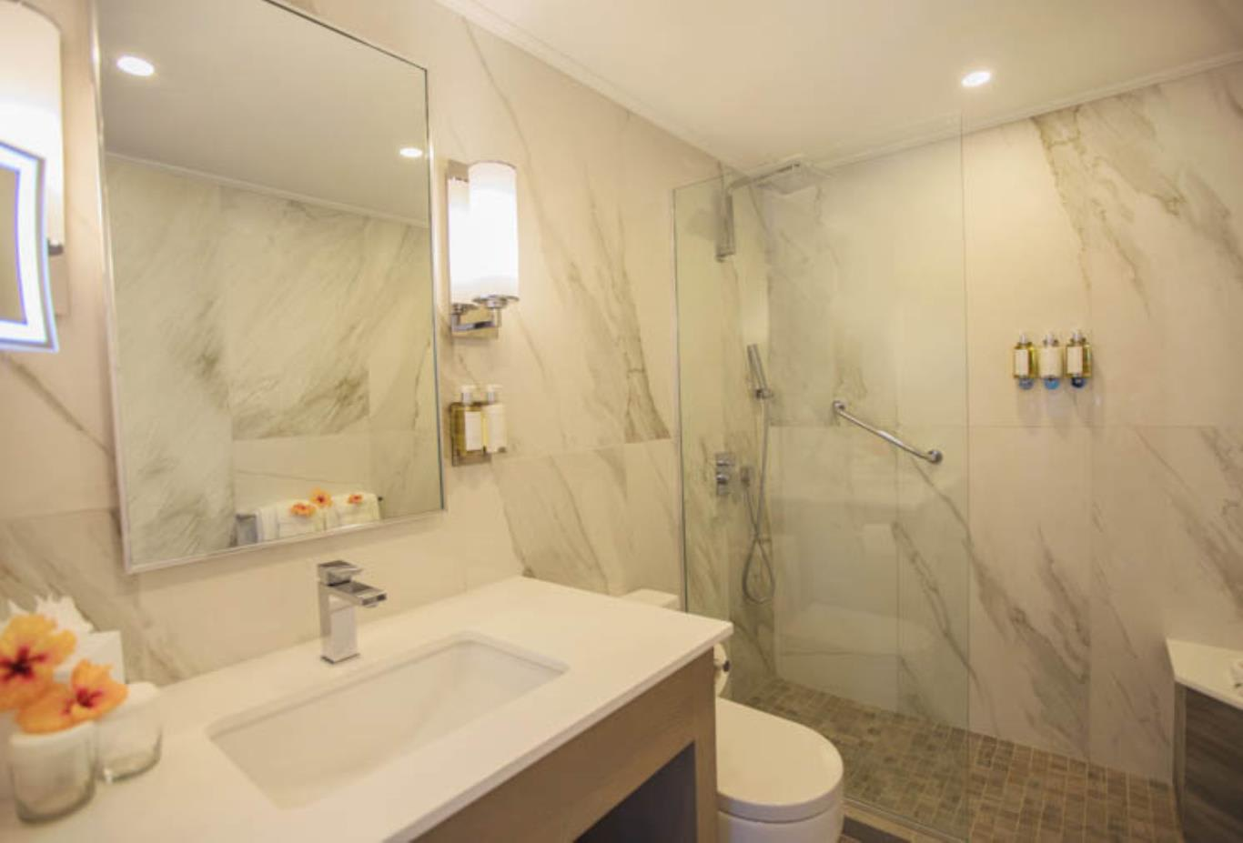 Deluxe Two Bedroom Suite bathroom