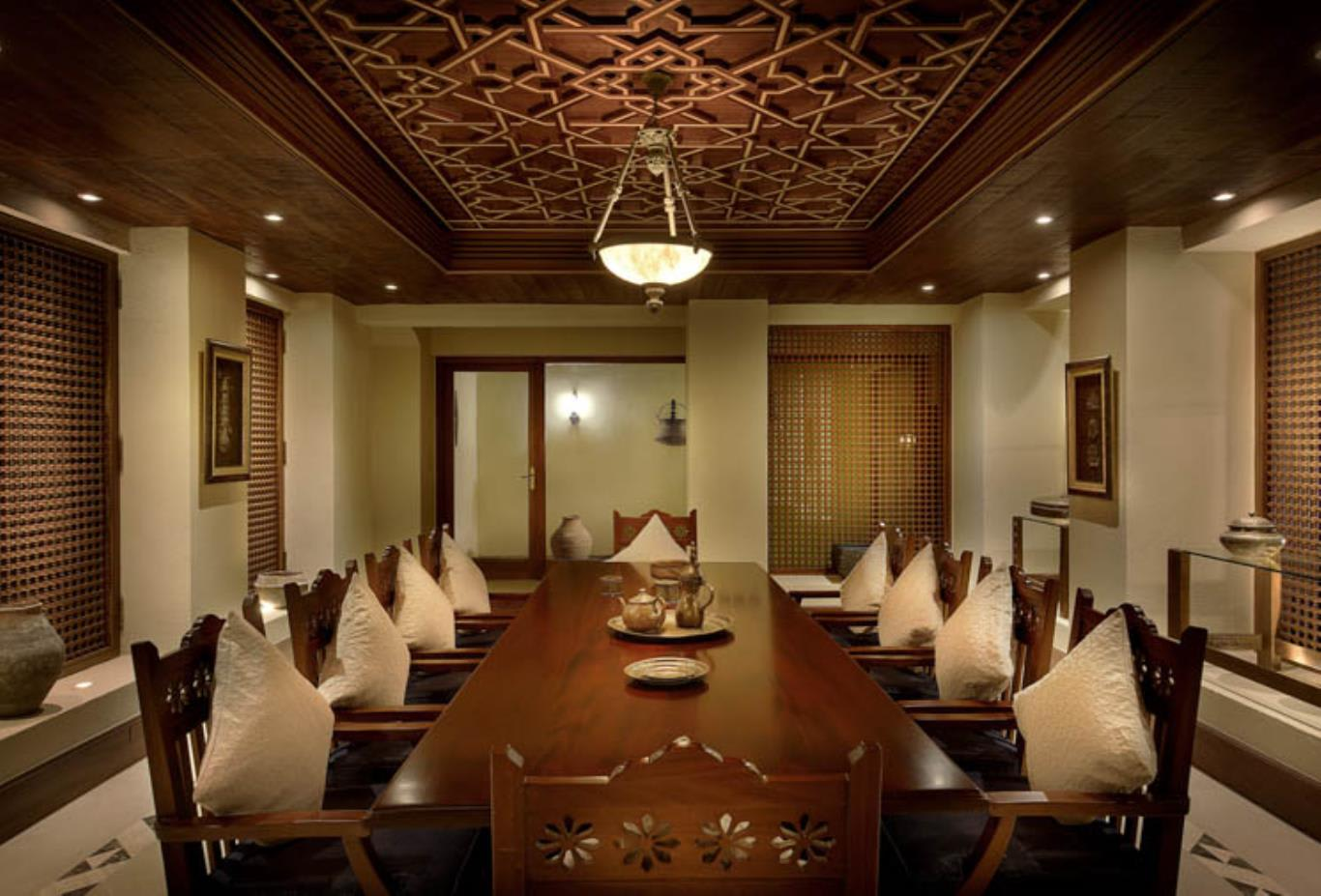 Presidential Suite dining room interior