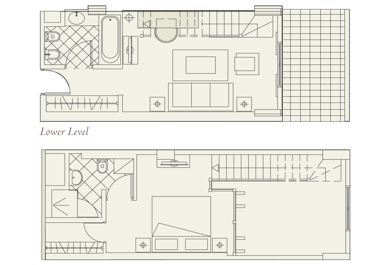 Floorplan Cyprian Maisonettes