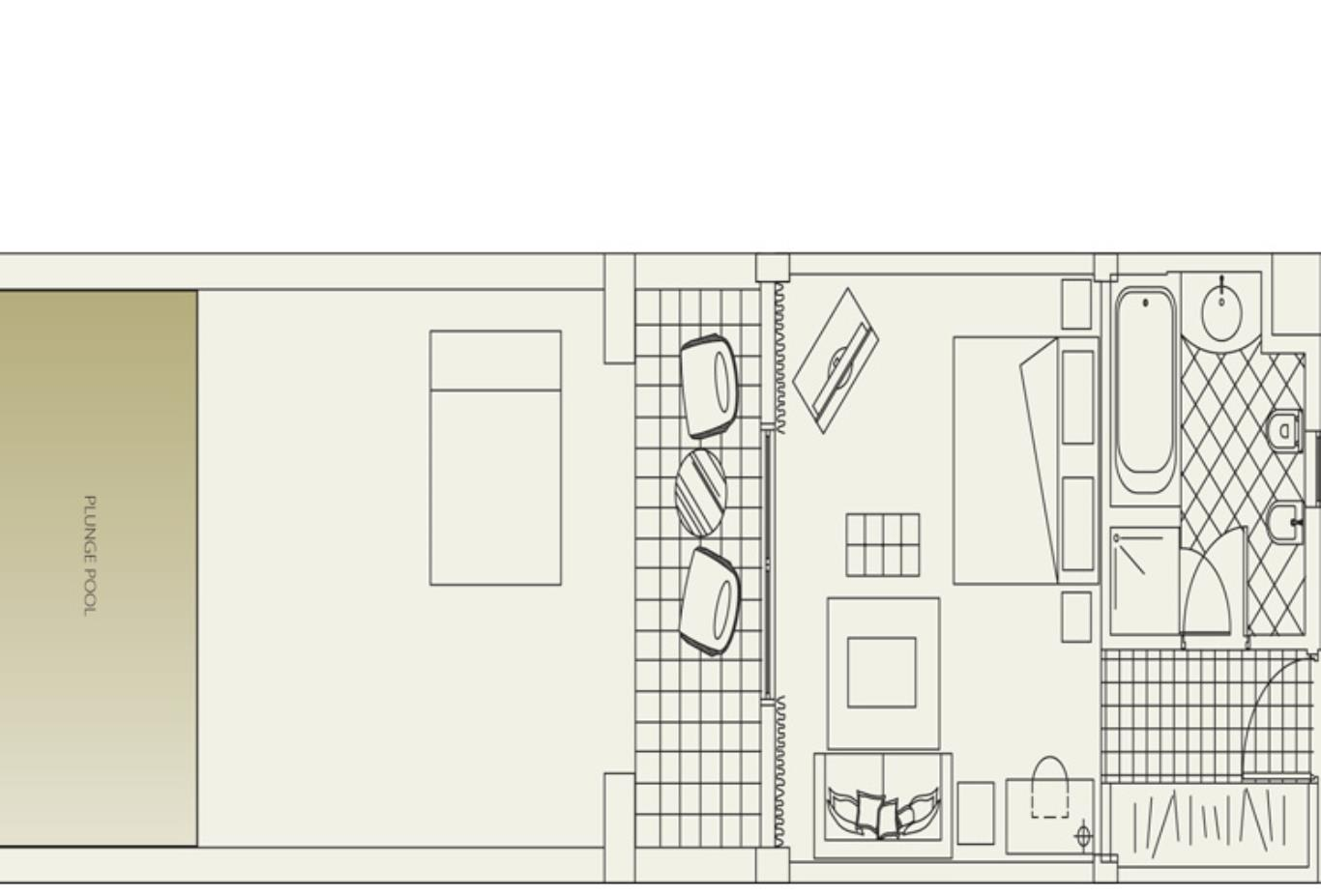 Floorplan Royal Studio