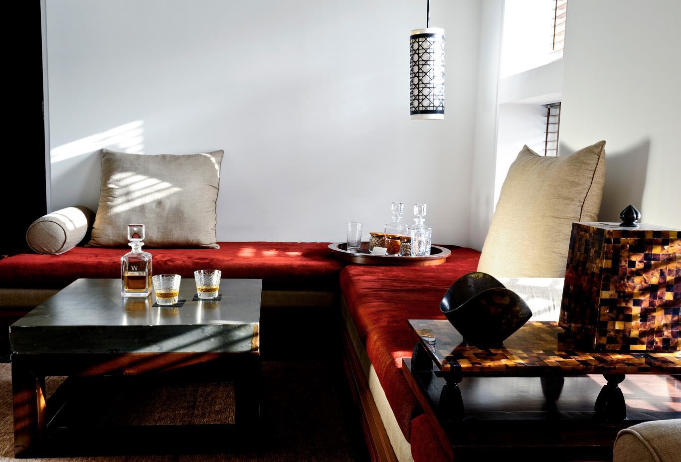 Chedi Club Suite Living Area