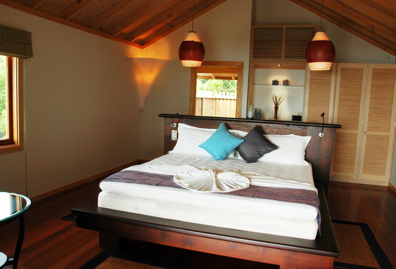 Kuredu O beach Villa interior