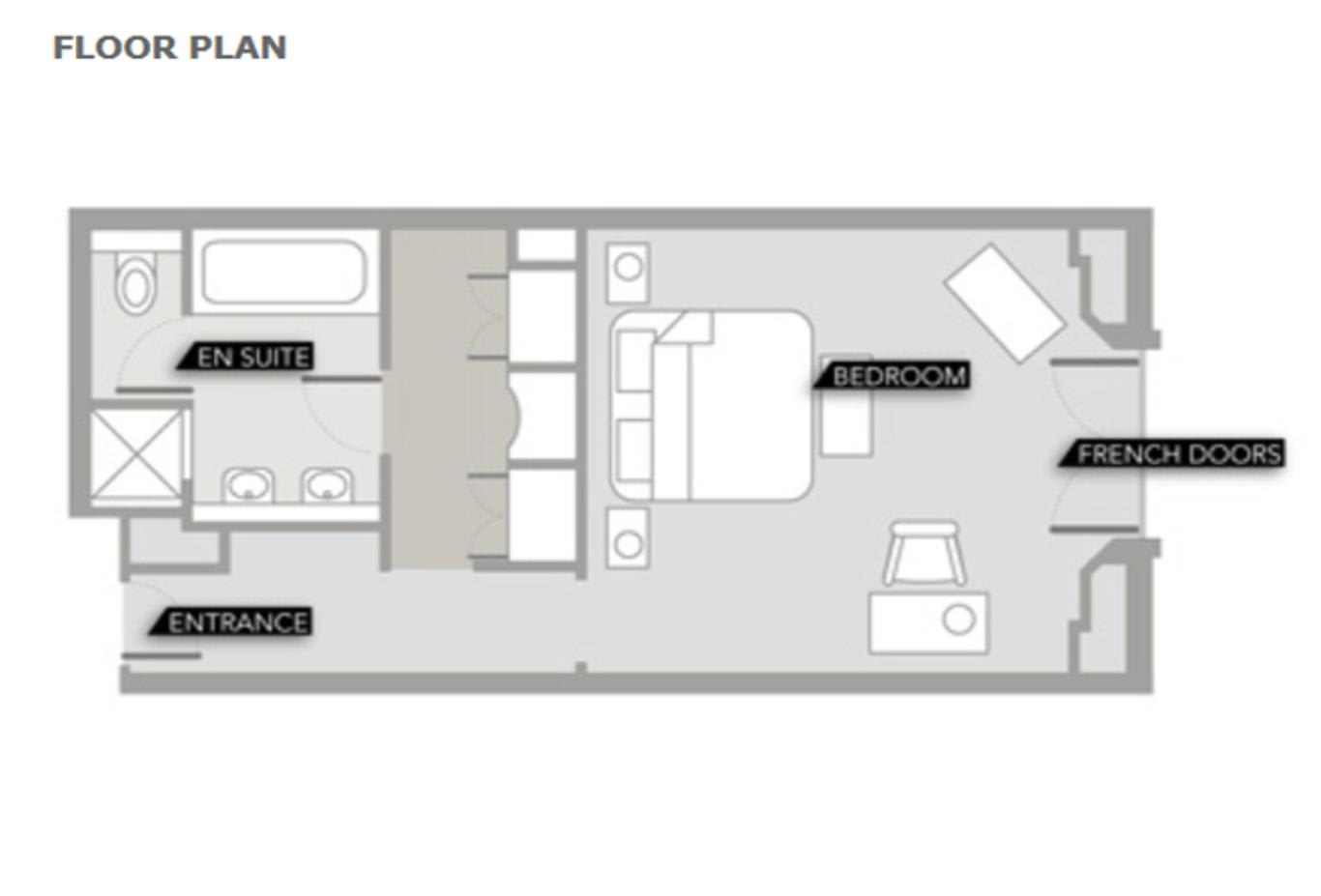 Luxury Room Floorplan