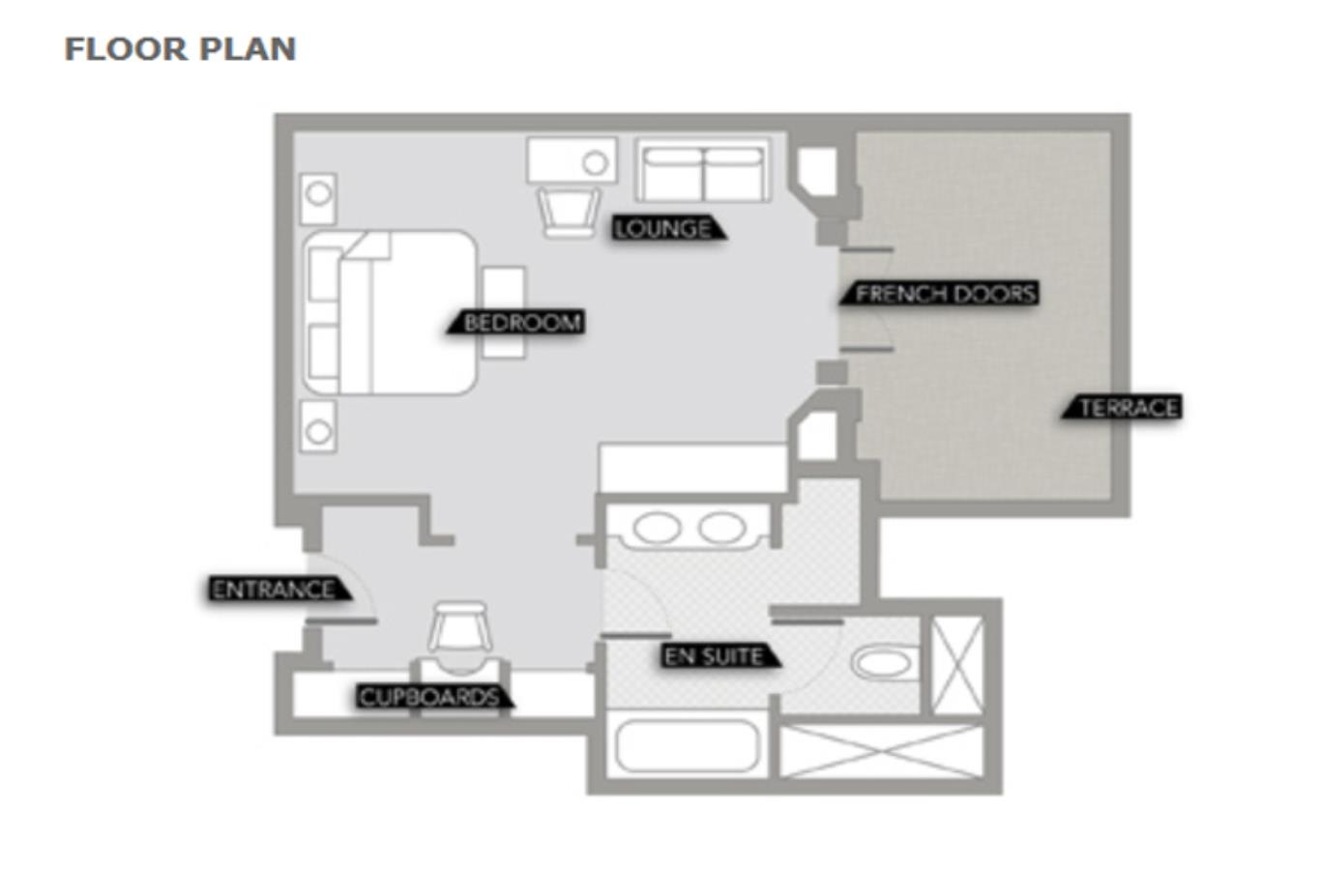 Rooftop Terrace Floorplan