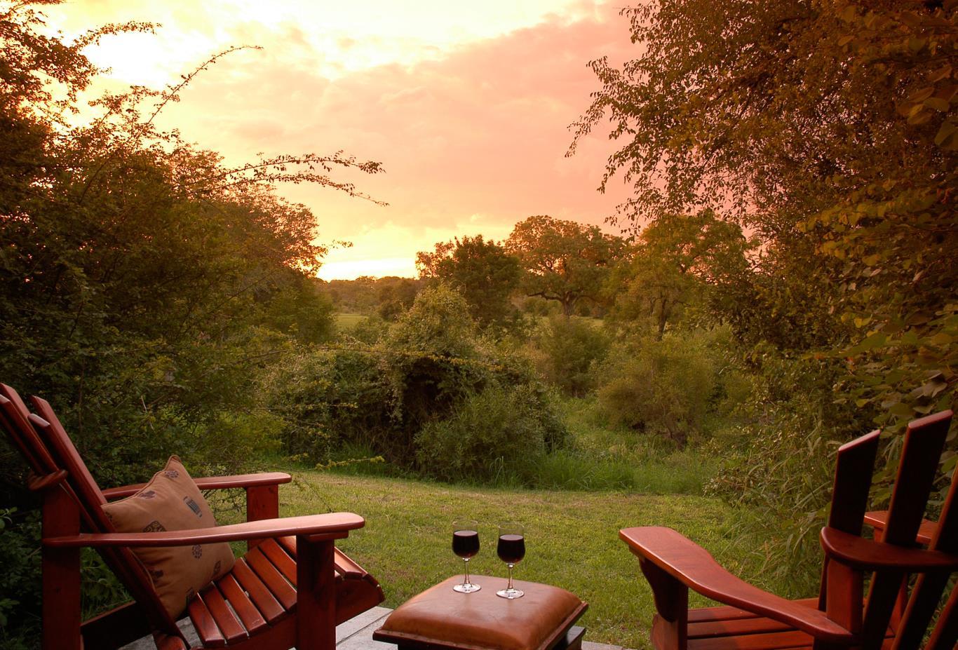 Bush Lodge STD Suite view
