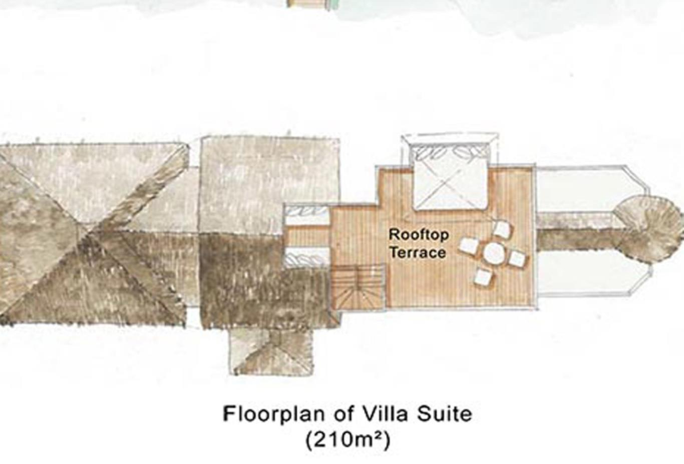 Floorplan Villa Suite