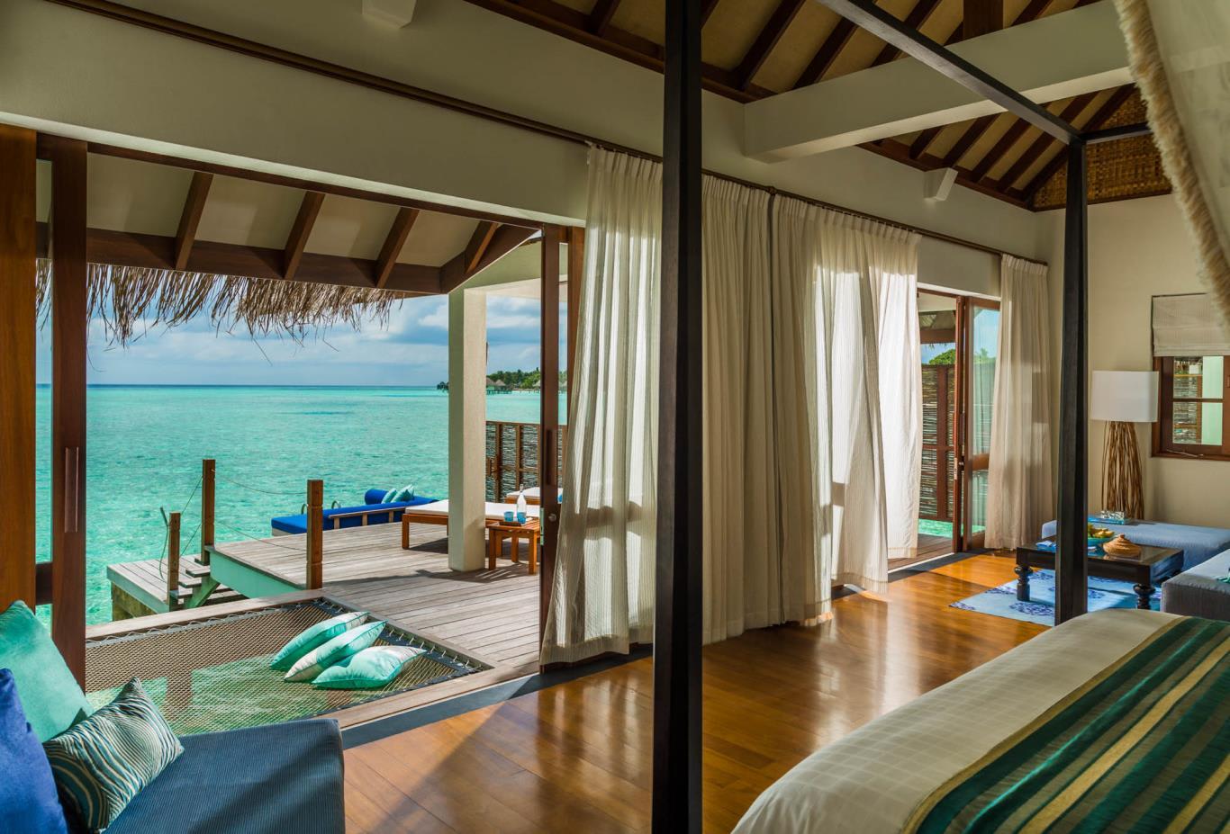 Water Villa Bedroom
