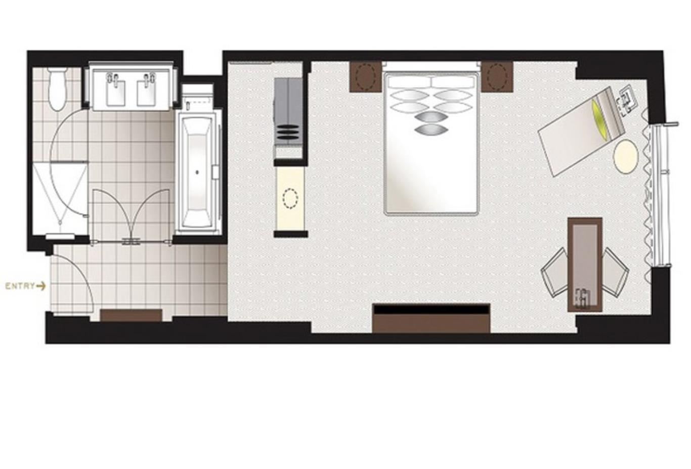 Premier Room Floorplan