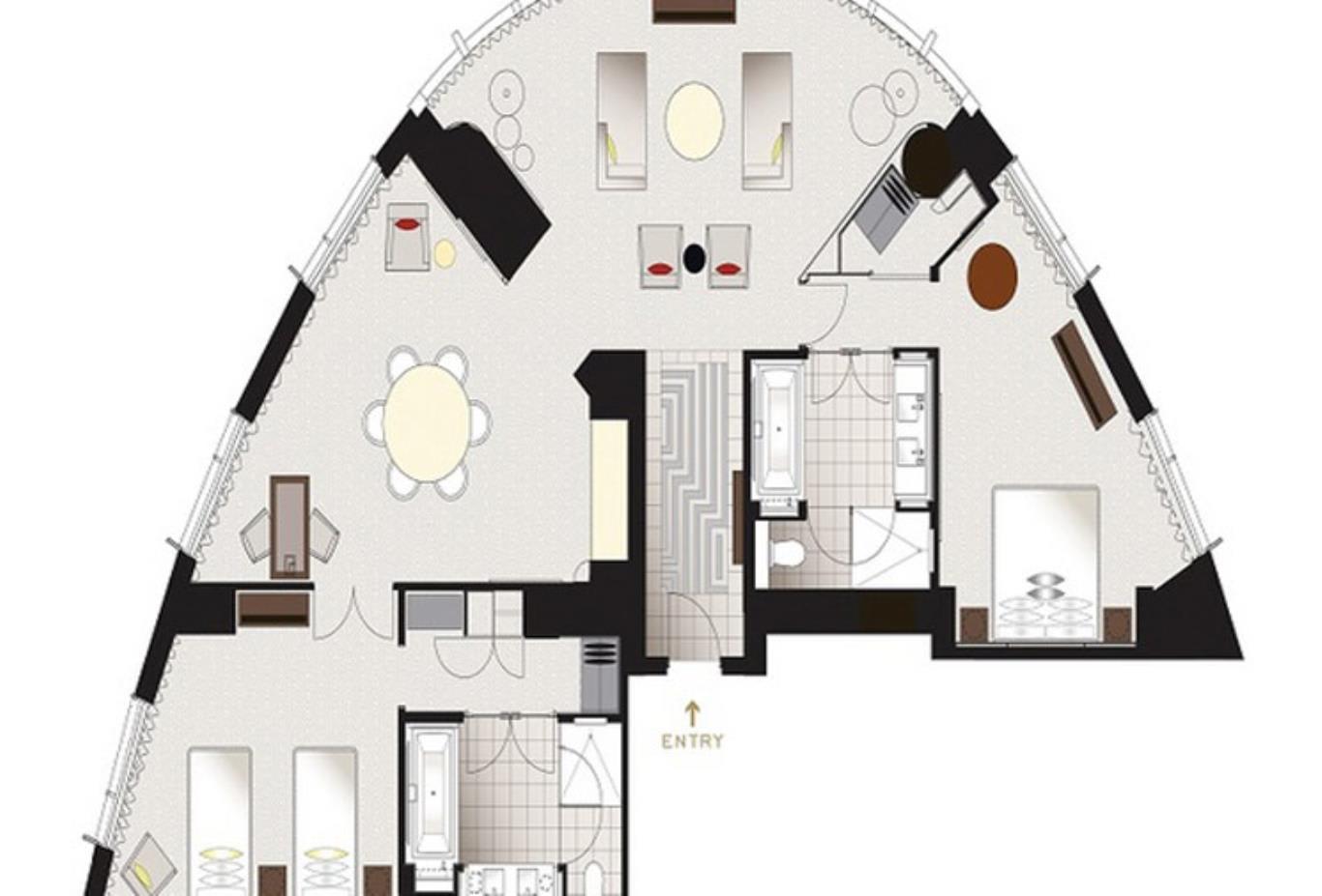 Tower Suite Floorplan