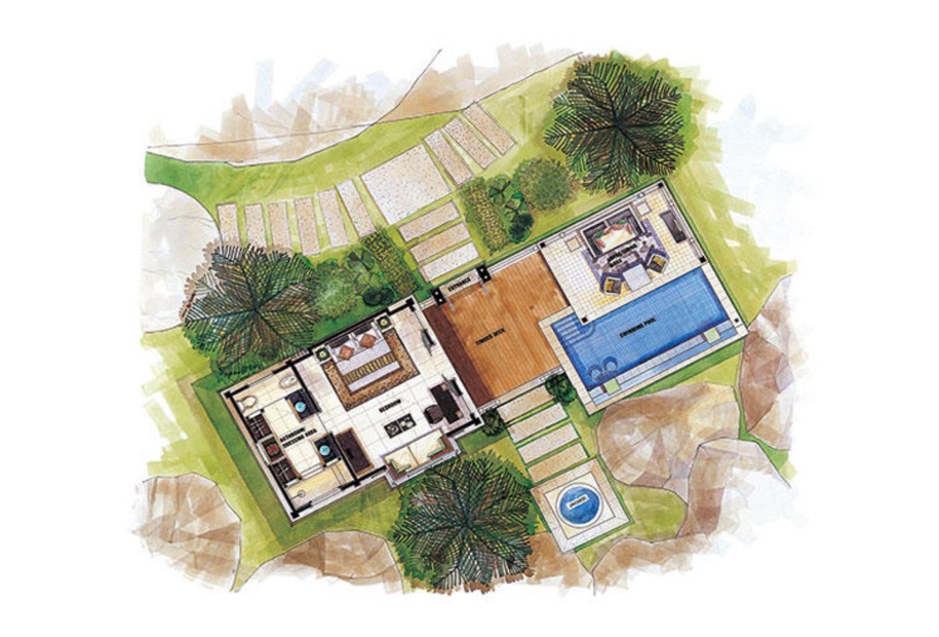Floorplan - Intendance Bay View Pool Villa