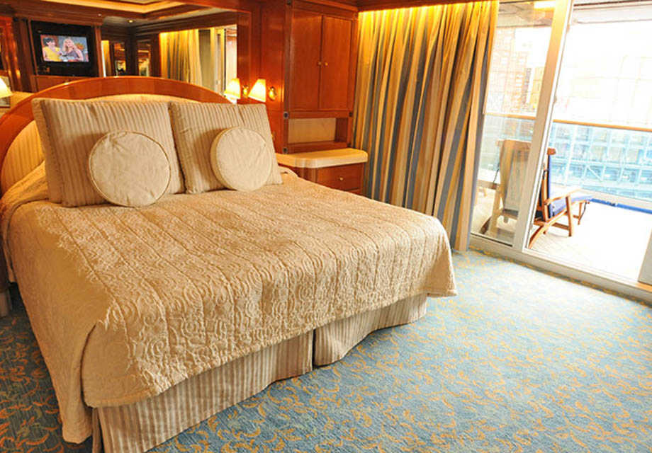 Golden Princess - Rooms - Grand Suite with Balcony