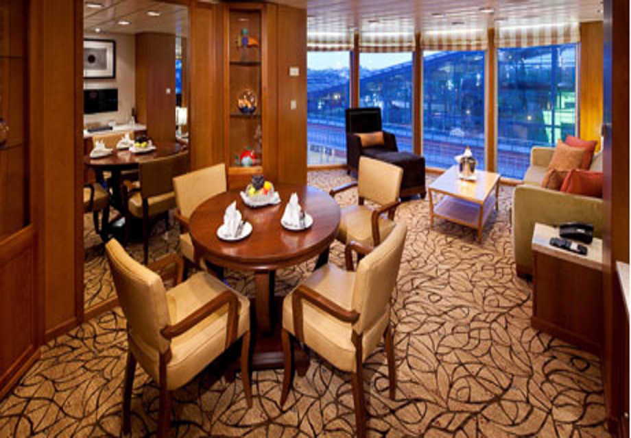 Celebrity Infinity - Rooms - Celebrity Suite