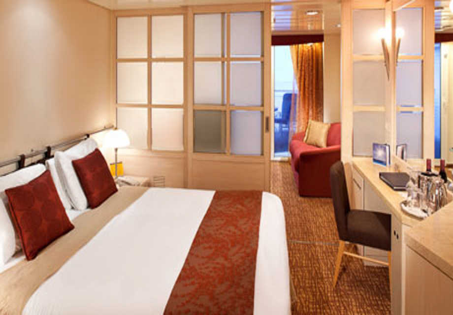 Celebrity Infinity - Rooms - Family Veranda Stateroom