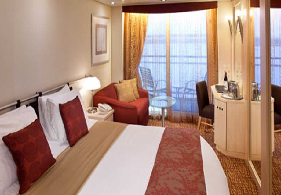 Celebrity Infinity - Rooms - Veranda Stateroom
